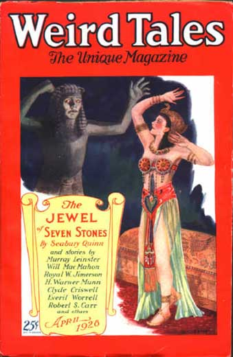 Weird Tales Volume 11 Number 4