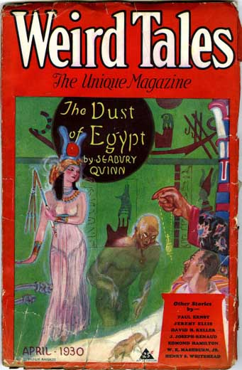 Weird Tales Volume 15 Number 4