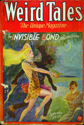 Weird Tales Volume 16 Number 3