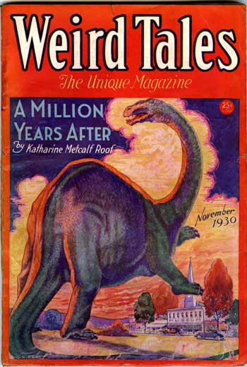 Weird Tales Volume 16 Number 5