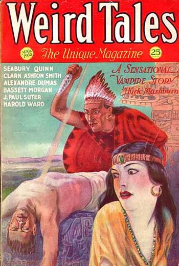 Weird Tales Volume 19 Number 3