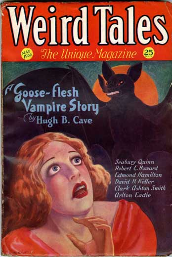 Weird Tales Volume 19 Number 5