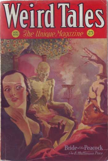 Weird Tales Volume 20 Number 2