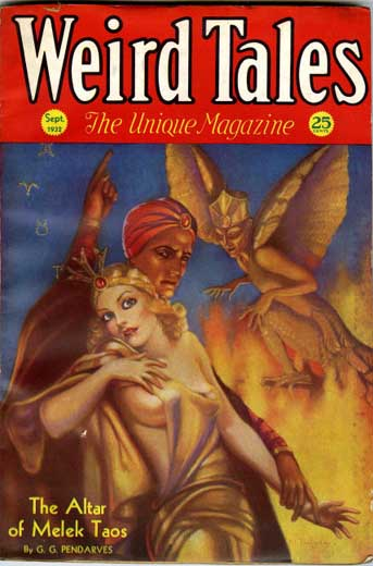 Weird Tales Volume 20 Number 3