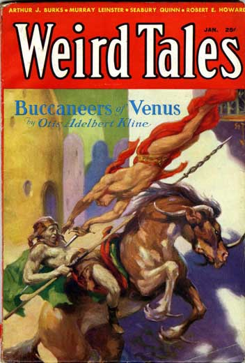 Weird Tales Volume 21 Number 1