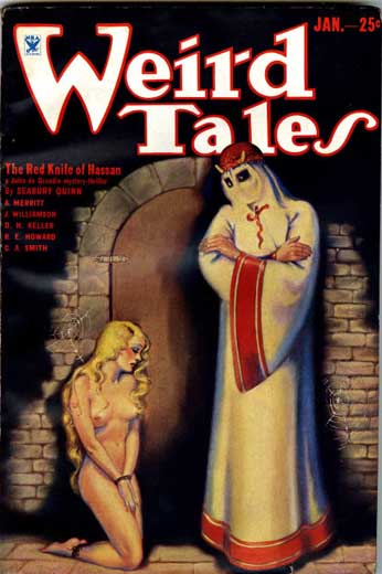 Weird Tales Volume 23 Number 1