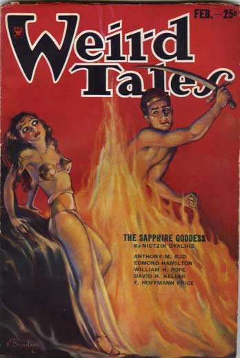 Weird Tales Volume 23 Number 2