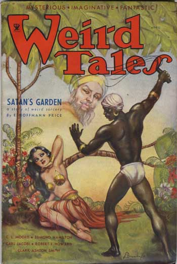 Weird Tales Volume 23 Number 4