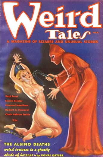 Weird Tales Volume 27 Number 3