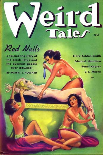Weird Tales Volume 28 Number 1