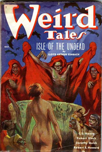 Weird Tales Volume 28 Number 3