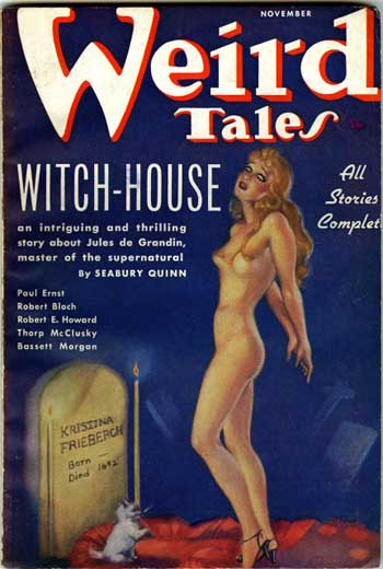 Weird Tales Volume 28 Number 4