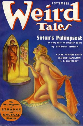 Weird Tales Volume 30 Number 32