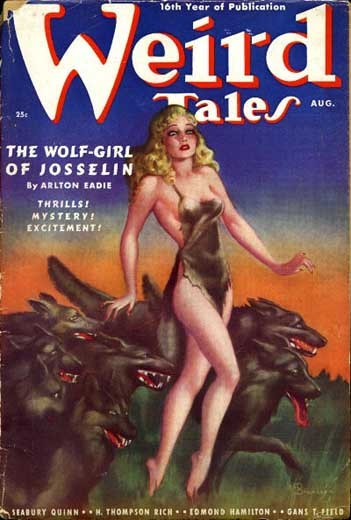 Weird Tales Volume 32 Number 2