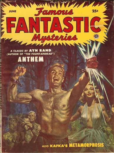 Famous Fantastic Mysteries Volume 14 Number 4