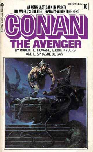 Livros do Conan, vários escritores. Prestige-conantheavenger