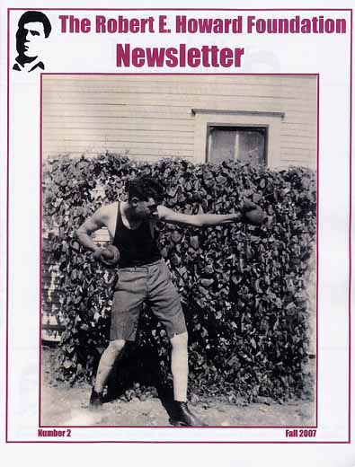 Robert E. Howard Foundation Newsletter #2