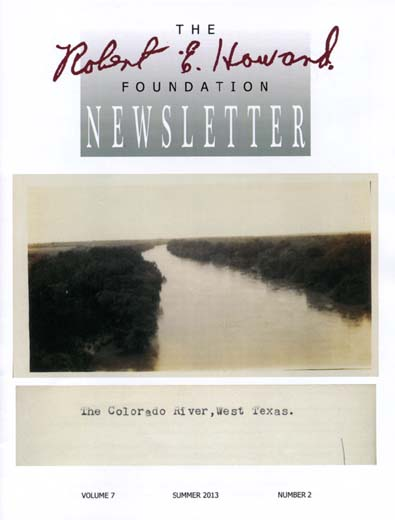 Robert E. Howard Foundation Newsletter Volume 7 Number 2