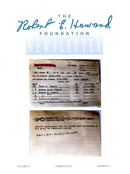 robert e howard foundation