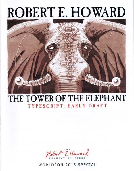 The Tower of the Elephant: Typescript - Early Draft