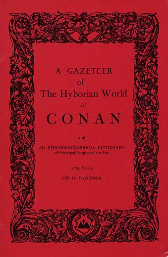 A Gazeteer of the Hyborian World of Conan