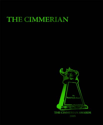 The Cimmerian Volume 2 Awards