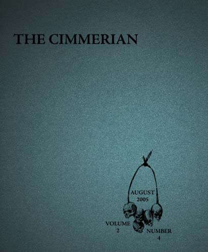 The Cimmerian Volume 2 Number 4