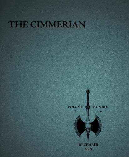 The Cimmerian Volume 2 Number 6