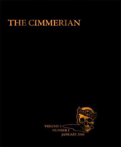 The Cimmerian Volume 3 Number 1