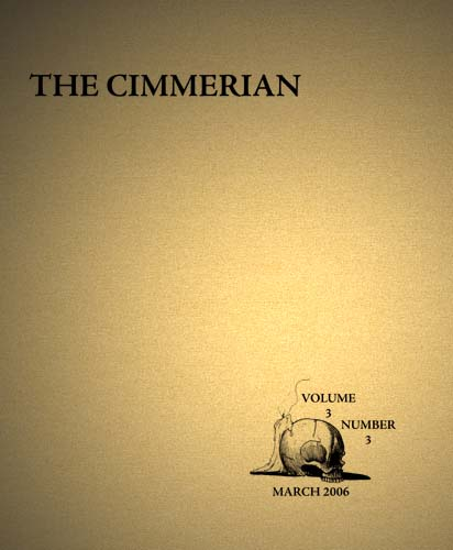 The Cimmerian Volume 3 Number 3