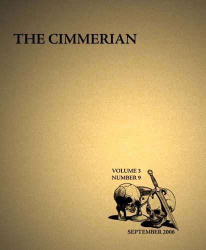 The Cimmerian Volume 3 Number 9