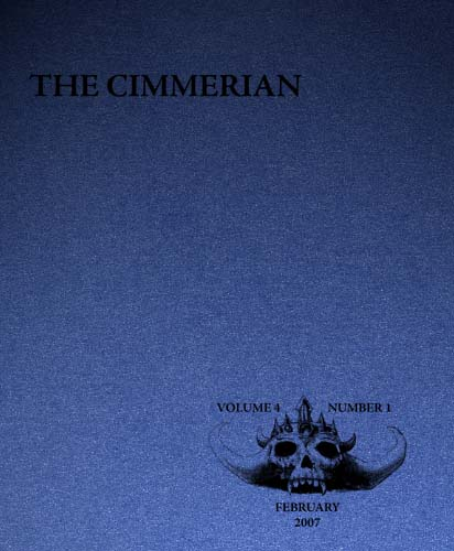 The Cimmerian Volume 4 Number 1