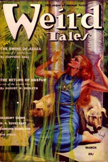 Weird Tales Volume 33 Number 3