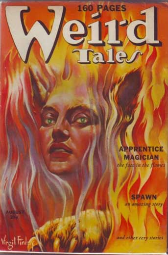 Weird Tales Volume 34 Number 2