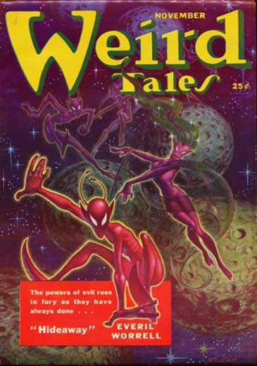 Weird Tales Volume 44 Number 1