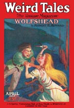 Weird Tales - April 1926