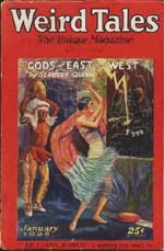 Weird Tales - January 1928